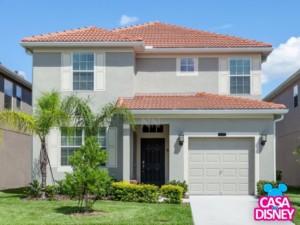 Alugar casa de ferias em Orlando fachada