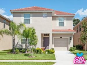 Alugar casa de temporada em Orlando fachada