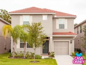 Alugar casa em Orlando fachada