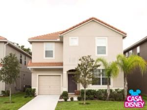 Aluguel de casa em Orlando fachada
