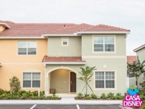 Aluguel de casa em Orlando perto da Disney fachada