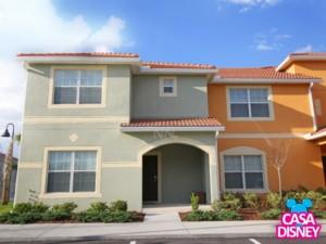 Aluguel de casa por temporada em Orlando fachada