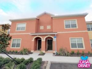 Casa em Orlando, linda decoração Fachada