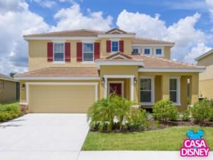 Linda casa para alugar em Orlando Destaque