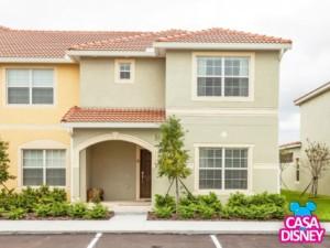 Alugar casa na Disney em Orlando fachada