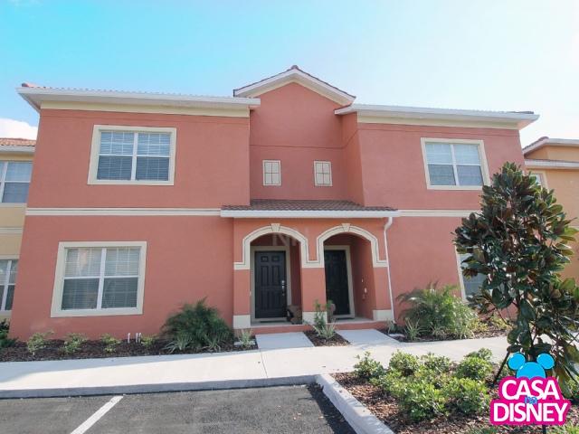 Casa de aluguel em Orlando Florida fachada