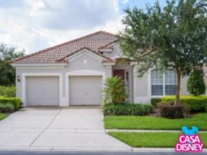Casa de temporada em Orlando perto da Disney Destaque