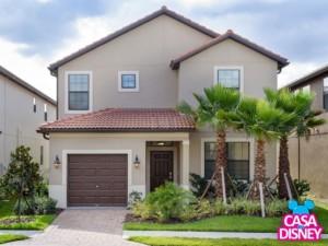 Casa de temporada em Orlando na região da Disney Entrada