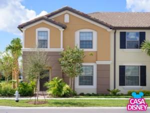 Alugar casa em Orlando de temporada para suas férias Entrada